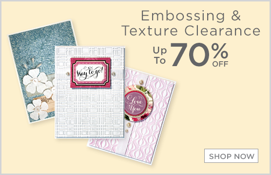 70& Off Embossing & Texture Plates