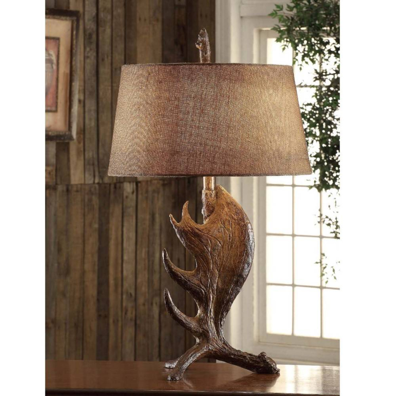 30 moose shed table lamp american expedition moose shed table lamp aloadofball Choice Image