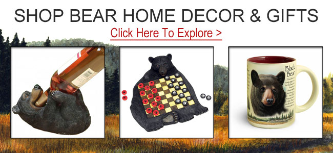 Shop bear gifts and decor.