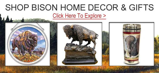Shop bison gifts and decor.