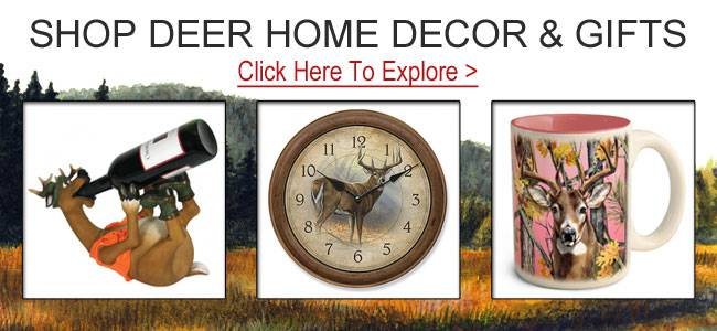 Shop deer gifts and decor.