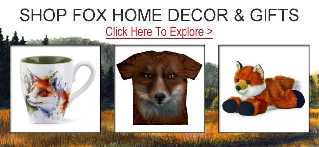 Shop fox gifts and decor.
