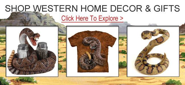 Shop western gifts and decor.