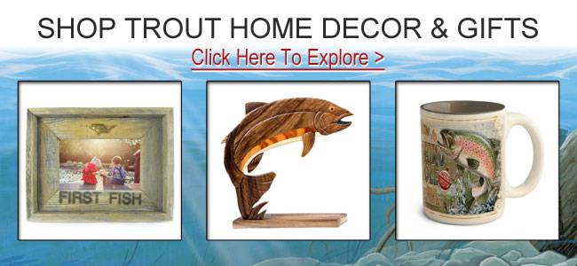Shop trout gifts and decor.