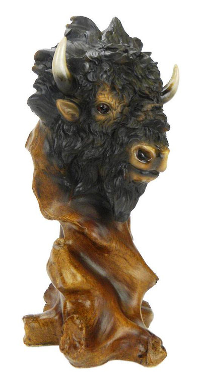 Buffalo Head Sculpture