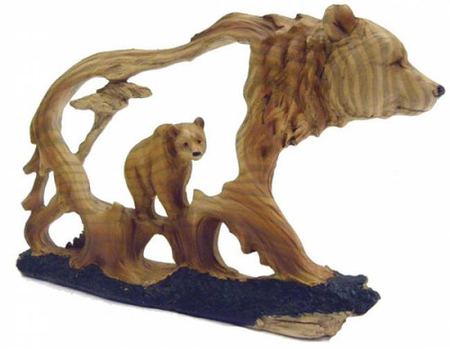 4 5 Quot Grizzly Bear Carved Sculpture