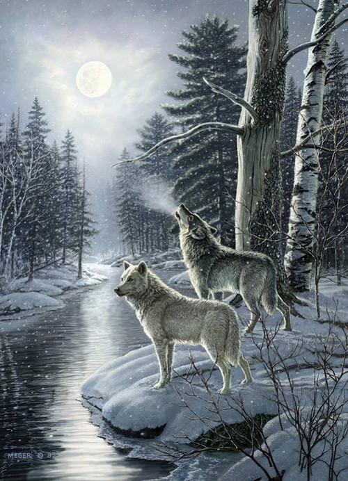 gray kitchen cabinets pictures wolves by the moonlight 1000 puzzle american 16015