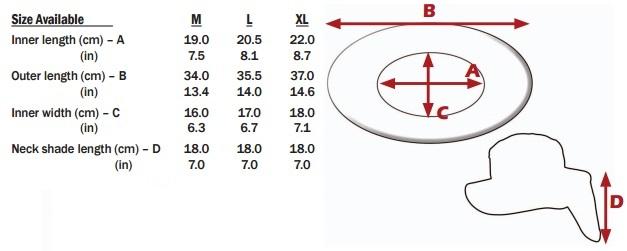 PIP01-396-425 size chart