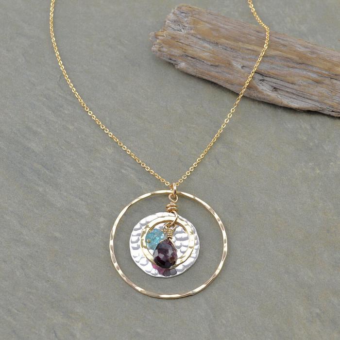 Charmed Teardrop Necklace