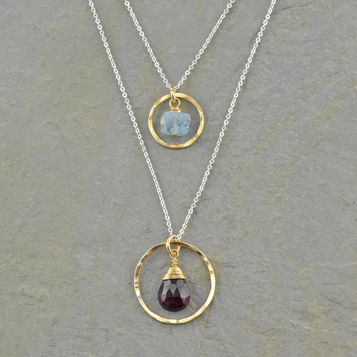 Engaging Center Necklace