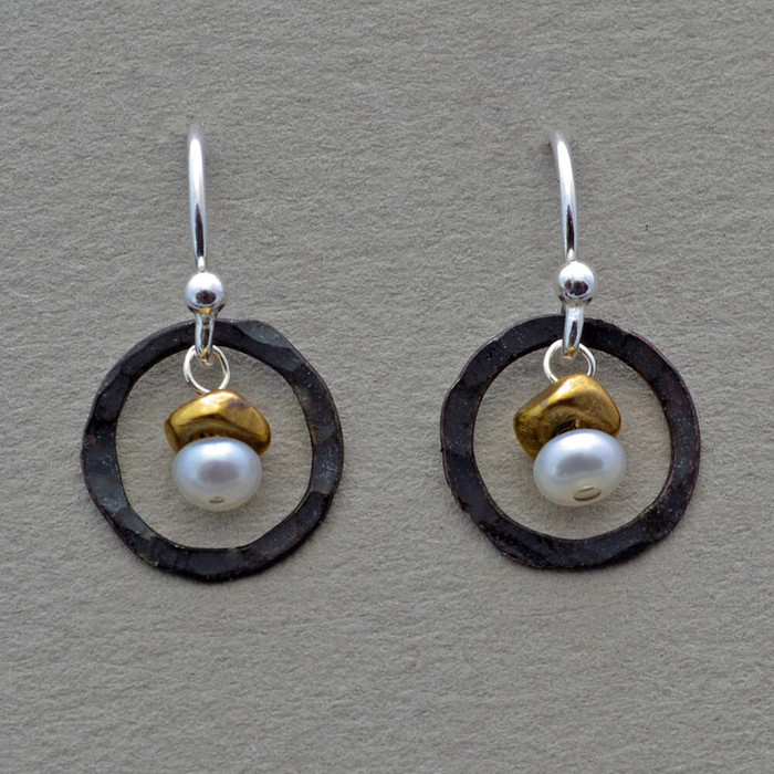 Petite Pearl Earrings