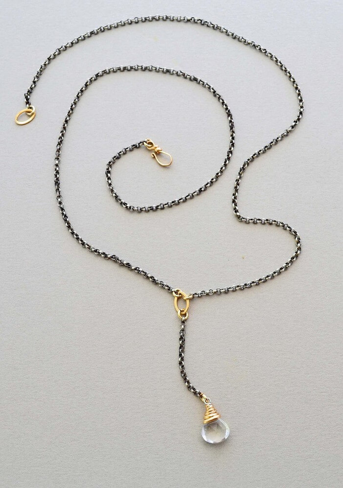Winding Quartz Necklace