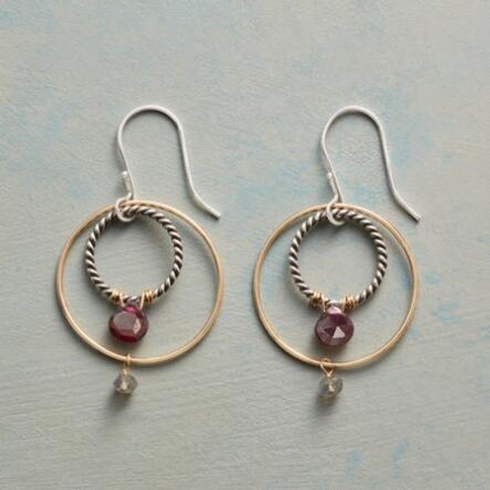Circle Around Earrings
