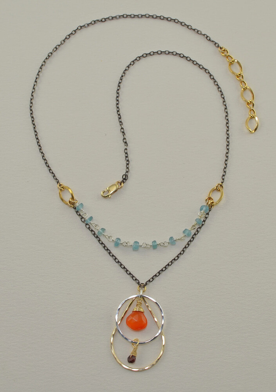 Enlightened Carnelian Necklace
