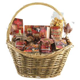 Large Maple Gift Basket