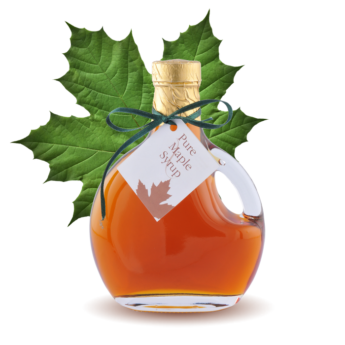 100% pure Maple Syrup Basque Bottle 8.45oz 250ml