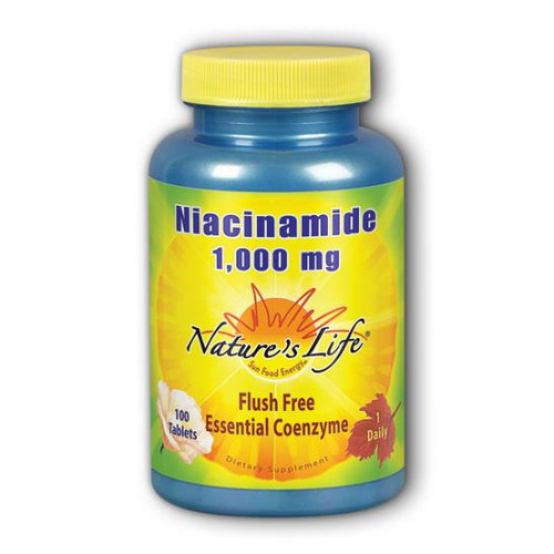 Niacinamide (Flush Free) 1000 mg 100 tabs