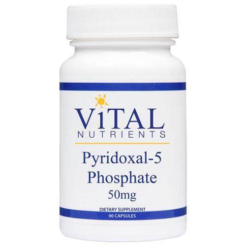 Pyridoxal 5 Phosphate P5P 50 mg 90 caps