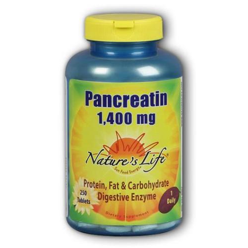 Pancreatin 1400 mg 250 tabs