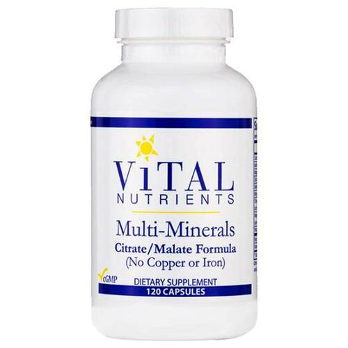 Multi-Minerals (no Copper or Iron) 120 caps