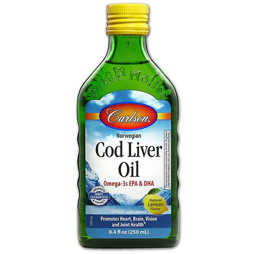 Cod Liver  Oil 8.4 oz LEMON