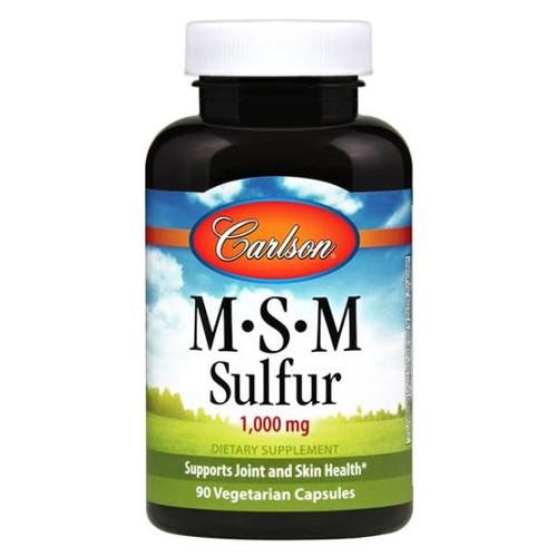 MSM Sulphur 1000 mg 90 caps