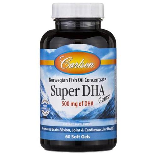 Super DHA Gems 500 mg 60 softgels