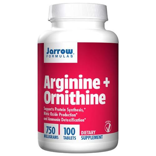 Arginine + Ornithine 750 mg 100 tabs