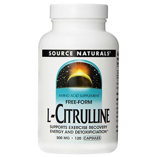 L-Citrulline 500 mg 120 caps