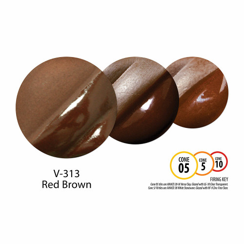 V-313 Red Brown