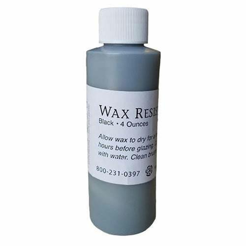 4 ounce black wax resist from AFTOSA