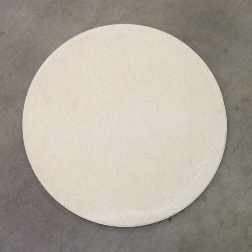 "ROUND High Alumina 15-1/2 Full Shelf - 5/8"" Thick"