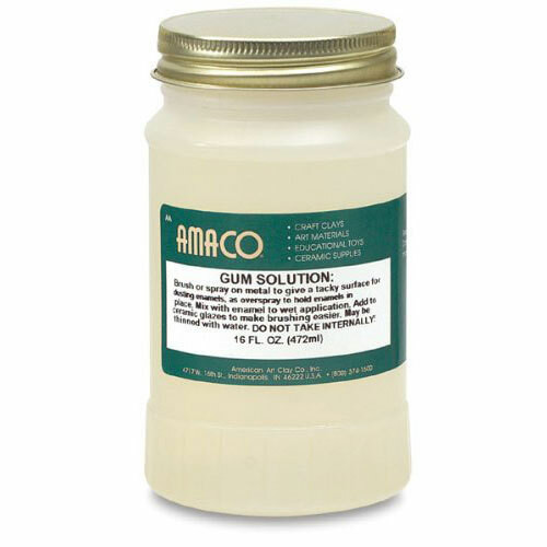 16 ounce (1 pint) sodium silicate solution from AMACO