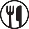 Dinnerware safe logo
