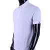 Men's Polo Shirt Short Sleeves Polo Shirt White Cotton Polo Shirt