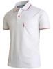 Short Sleeve Dri Fit Point Button Polo Shirt-Unisex