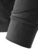 mock neck black-sleeve detail