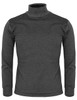 mock neck darkgray-front