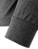 mock neck darkgray-sleeve detail