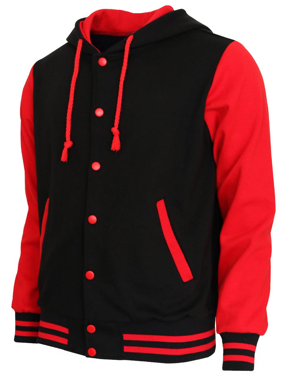 Sweatshirt Jacket Hoodie Baseball Jacket Varsity Letterman Jacket ...