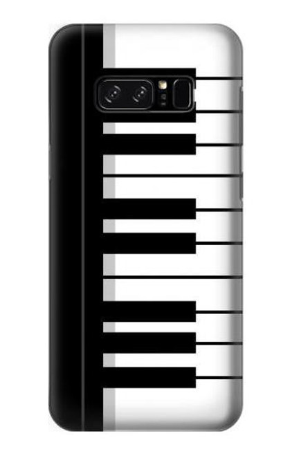 S3078 Black and White Piano Keyboard Case For Samsung Galaxy On5