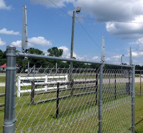 extendanarm barbed wire barbwire arm extensions for chain link fence chain link fence barbed wire i41 chain