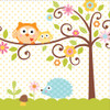 Woodland Happi Tree Lunch Napkins (16)