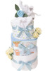 3 Tier Welcome Little Baby Boy Moi  Nappy Cake