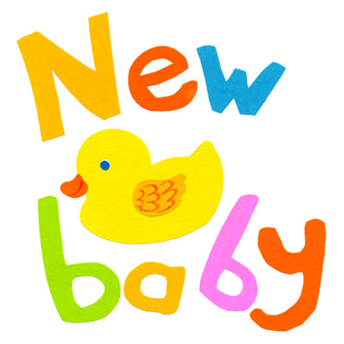 New Baby Duck Greeting Card 1 Baby Shower Host