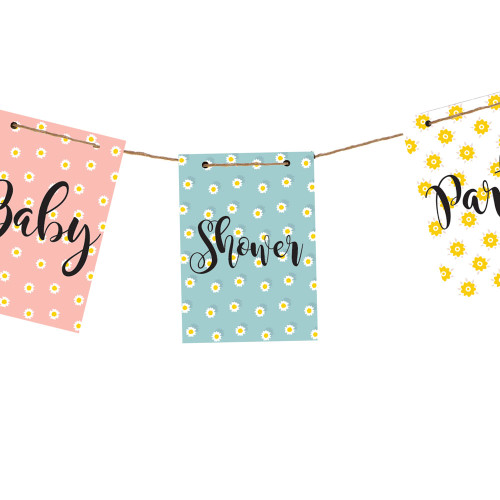 Baby Shower Banner Decoration Personalise