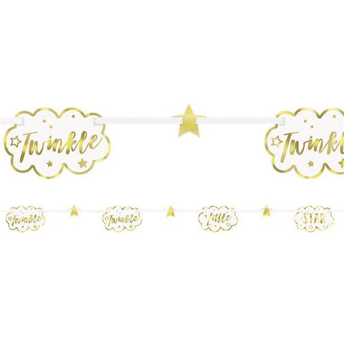 Twinkle little star garland