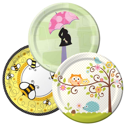 Baby Shower Tableware Themes