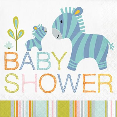 happi jungle baby shower napkins 16