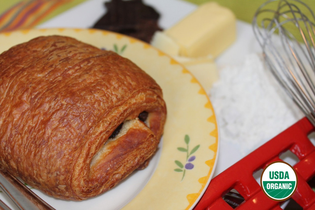 ORGANIC FRENCH CHOCOLATE CROISSANT